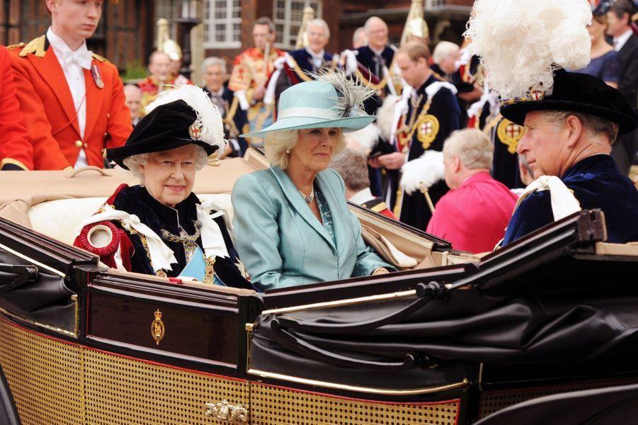 """Les """"Royals"""" à l'Ordre de la Jarretière"""