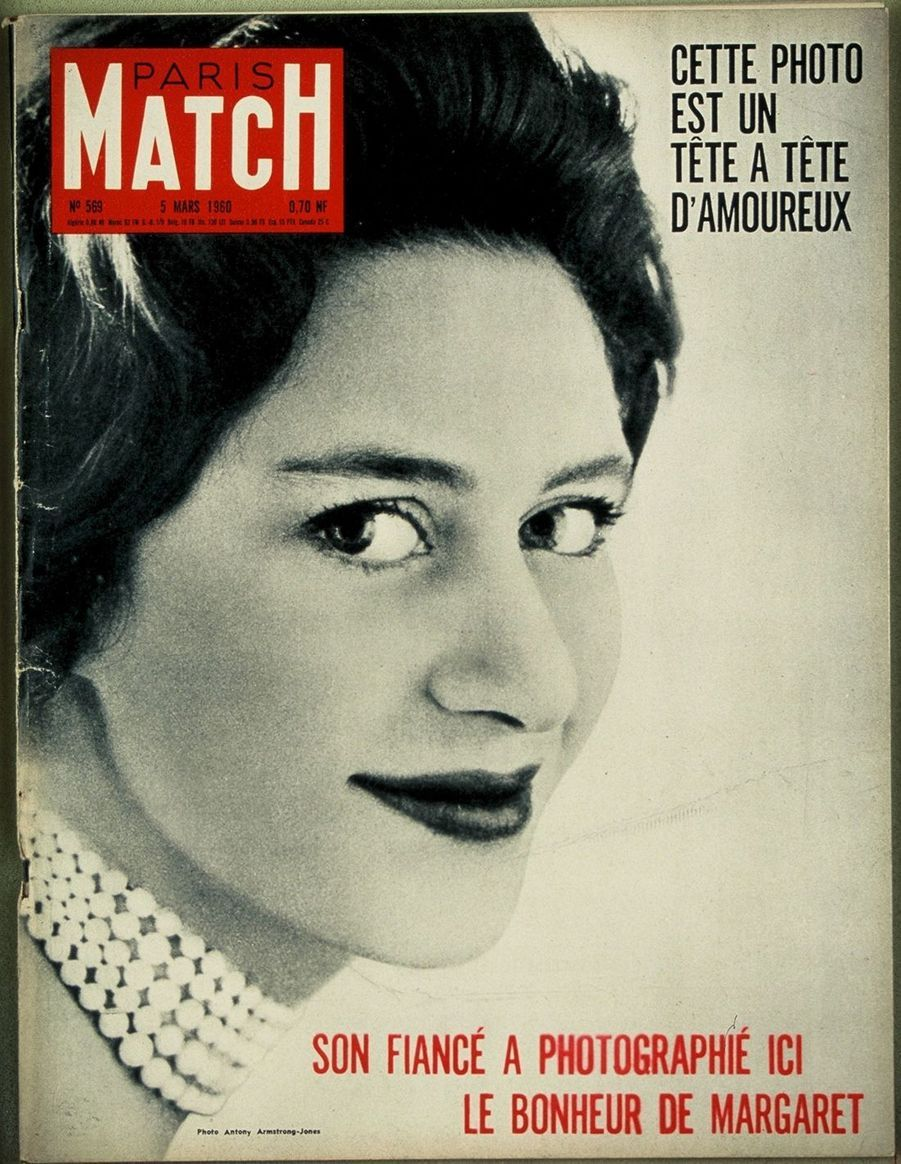 La princesse Margaret, mars 1960