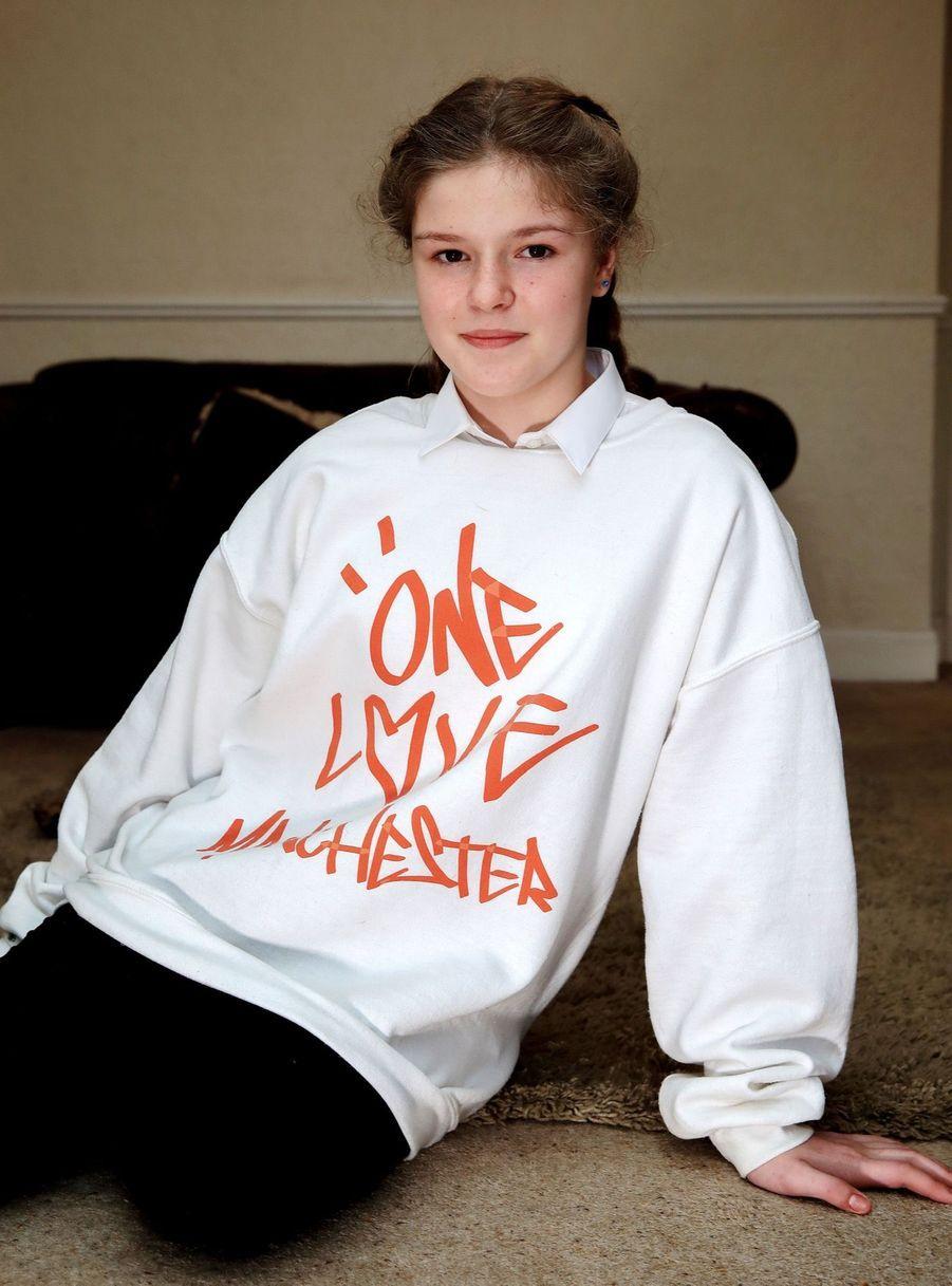 Amelia Thompson, 12 ans, victime de l'attentat de Manchester.