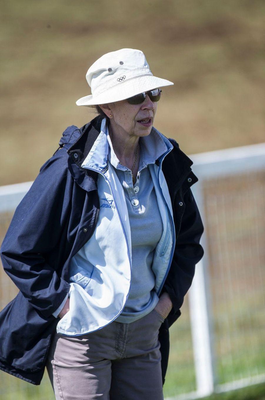 La princesse Anne à Gatcombe Park, le 5 août 2017