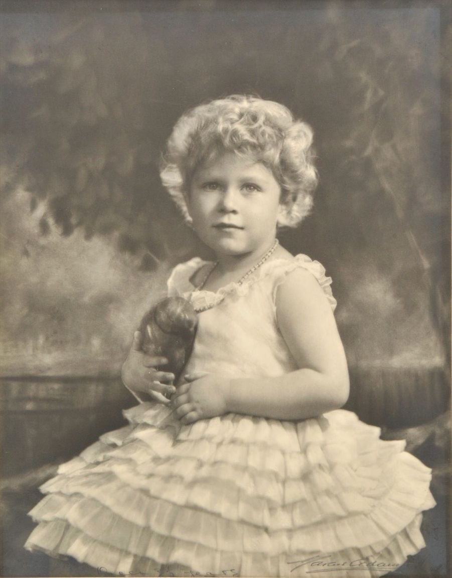 La future reine Elizabeth II - non datée
