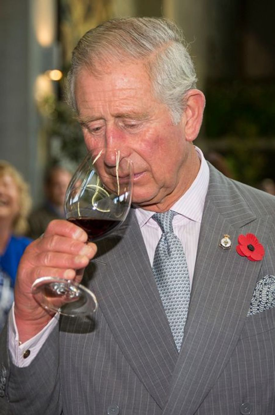 Le prince Charles à la Nahana Winery à Nelson, le 7 novembre 2015