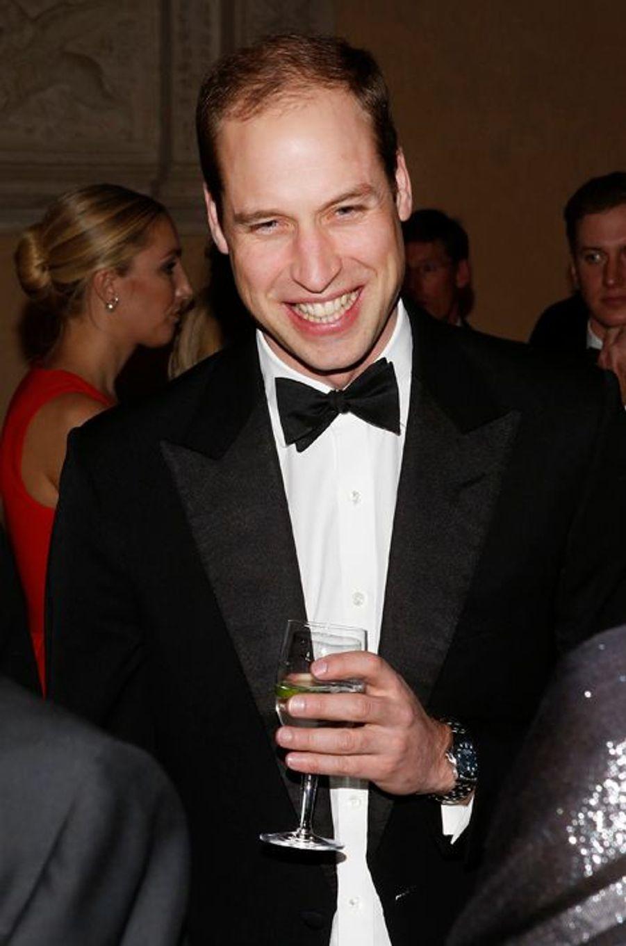 N°4, le prince William, duc de Cambridge. Ici à New York, le 9 décembre 2014