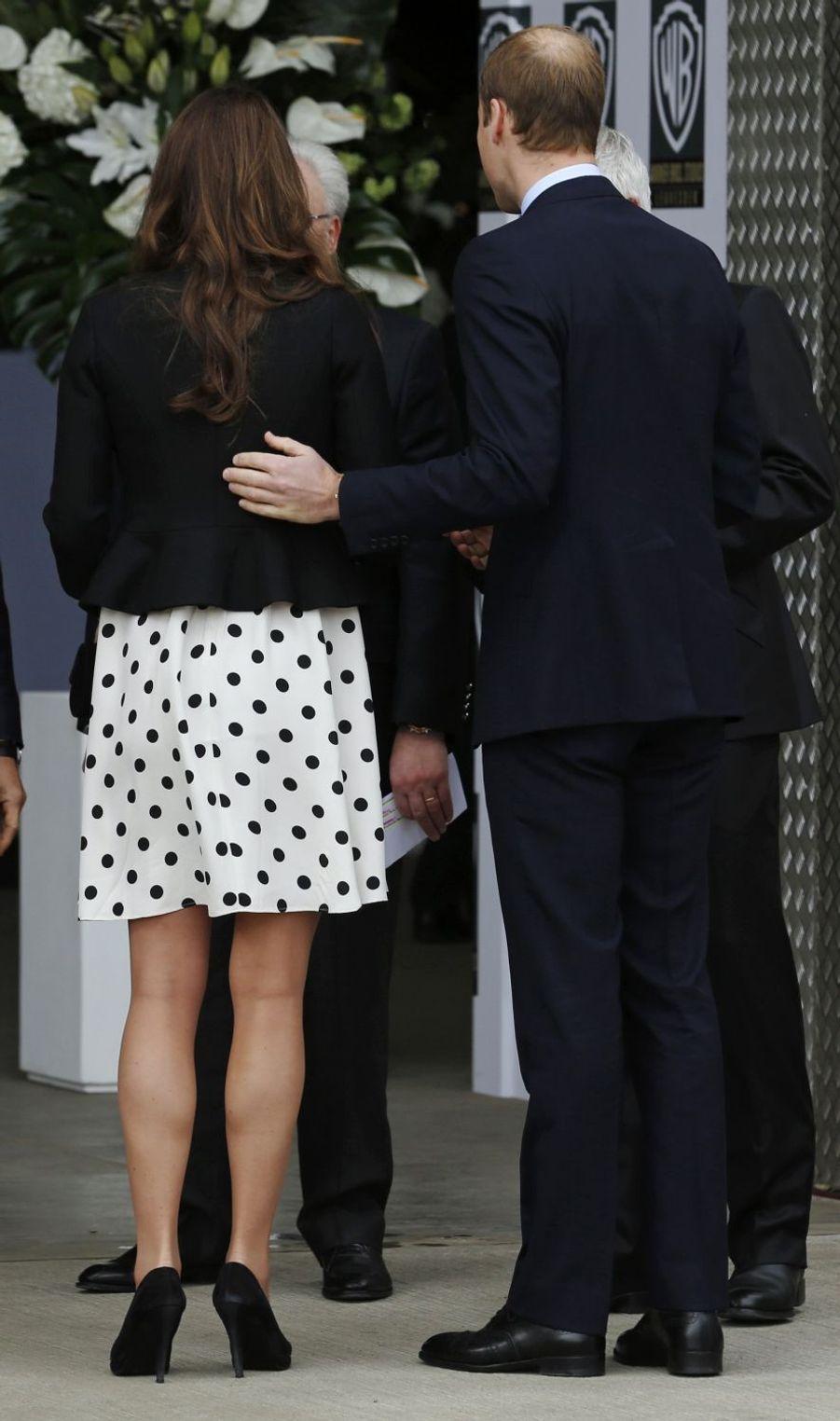 La duchesse Catherine de Cambridge à Londres, le 26 avril 2013