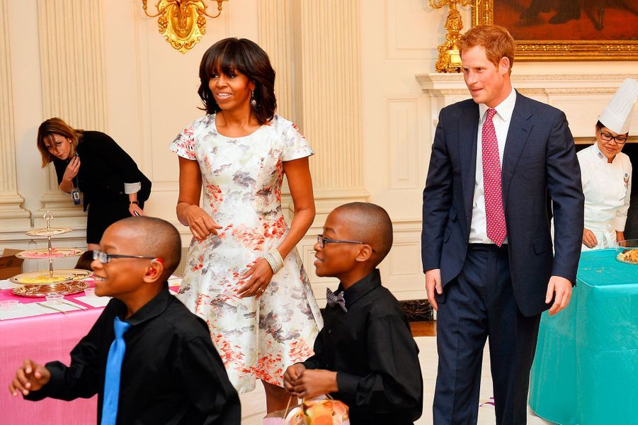 Quand le prince Harry rencontre la First Lady