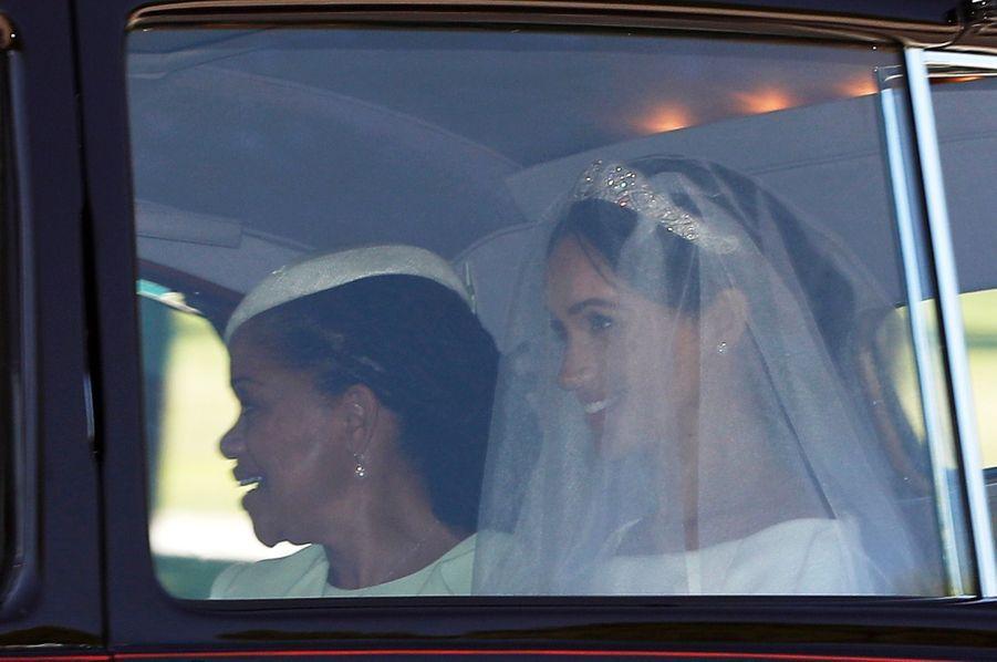 La Mère De Meghan Markle, Doria Ragland, Au Mariage De Sa Fille Avec Le Prince Harry   ( 1