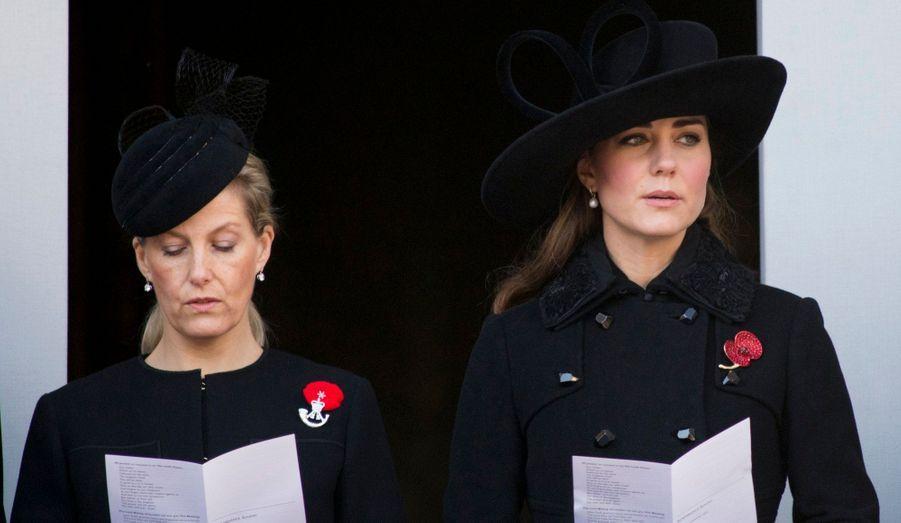 Sophie Rhys-Jones, comtesse de Wessex, était à ses côtés.