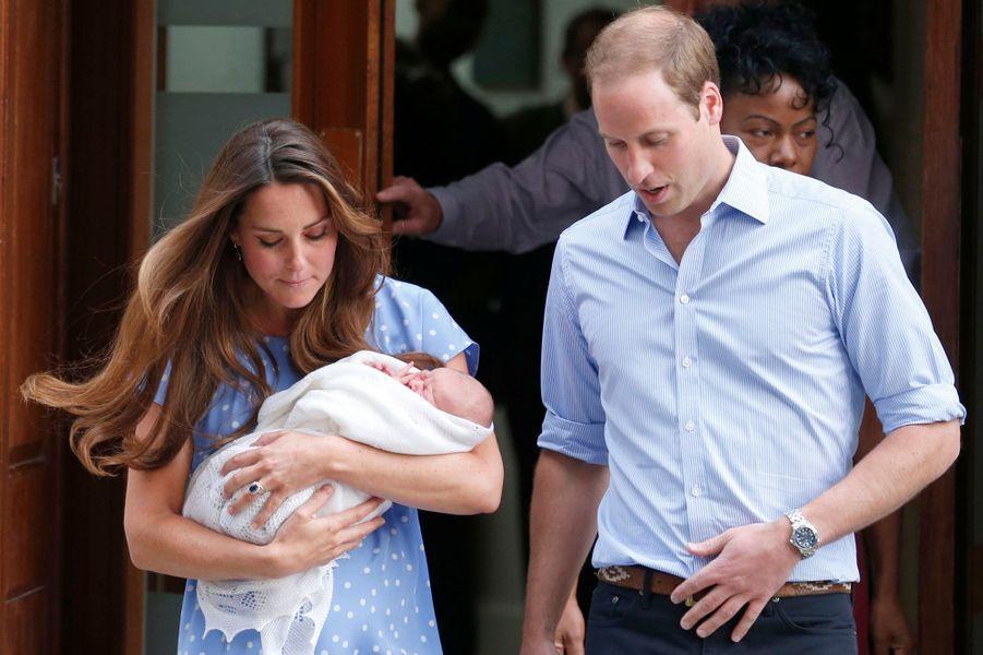Voici le prince de Cambridge!