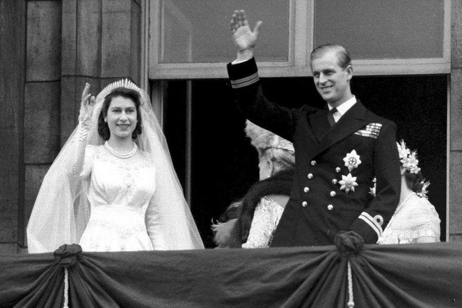 Mariage de la princesse Elizabeth et du prince Philip, le 20 novembre 1947