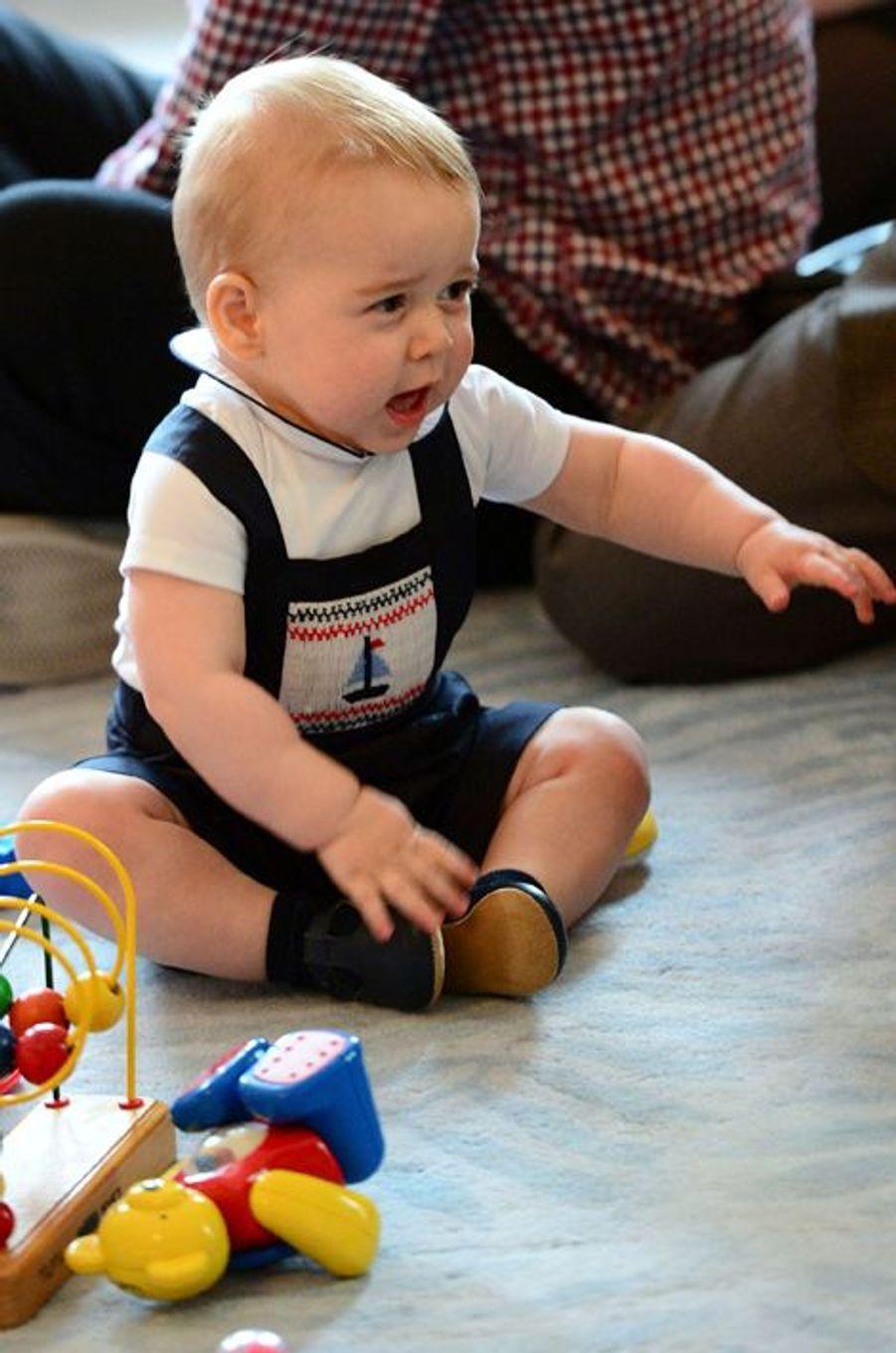 Le prince George, le 9 avril 2014