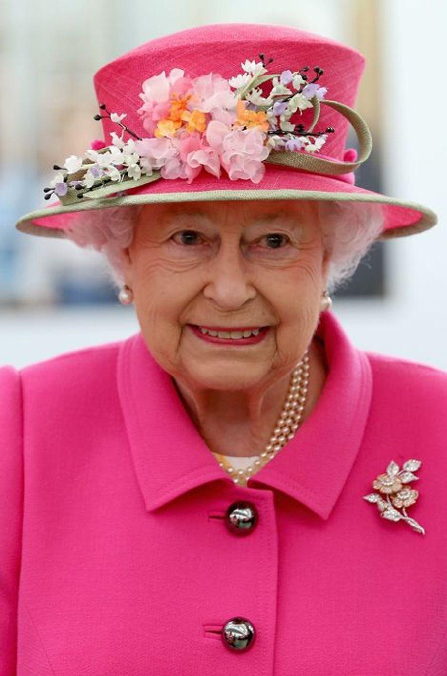 La reine Elizabeth II, le 20 avril 2016