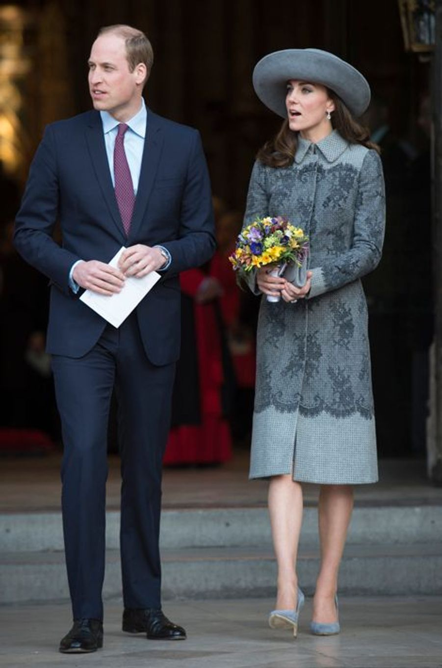 La duchesse Catherine de Cambridge, le 14 mars 2016