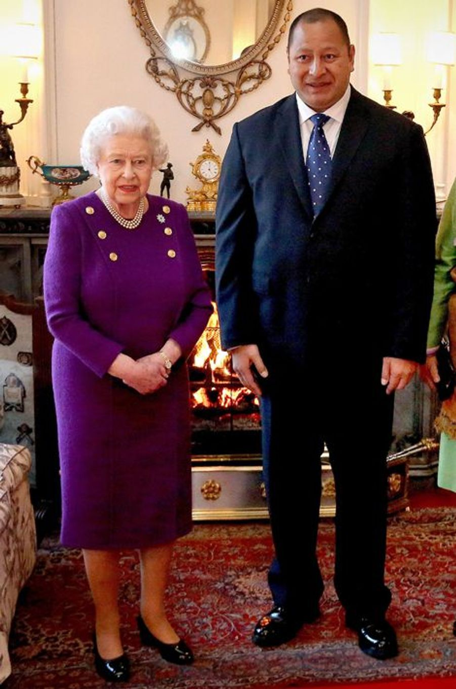 La reine Elizabeth II, le 2 fevrier 2015