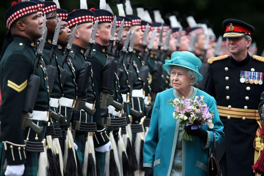 Les Windsor sur le front écossais