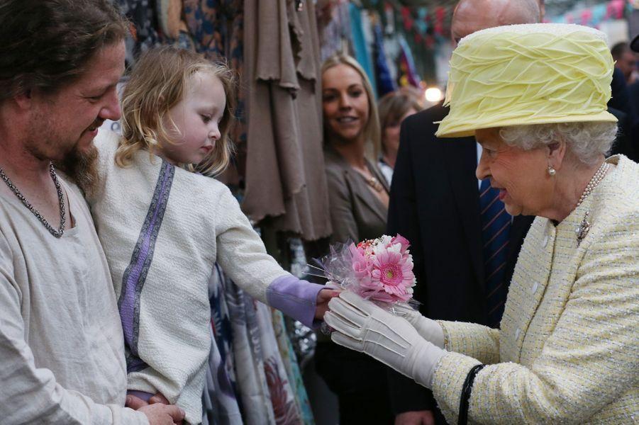 Un selfie avec la reine