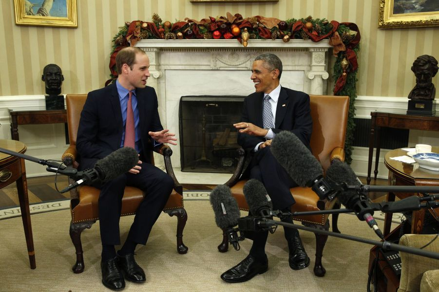Le prince William rencontre Barack Obama