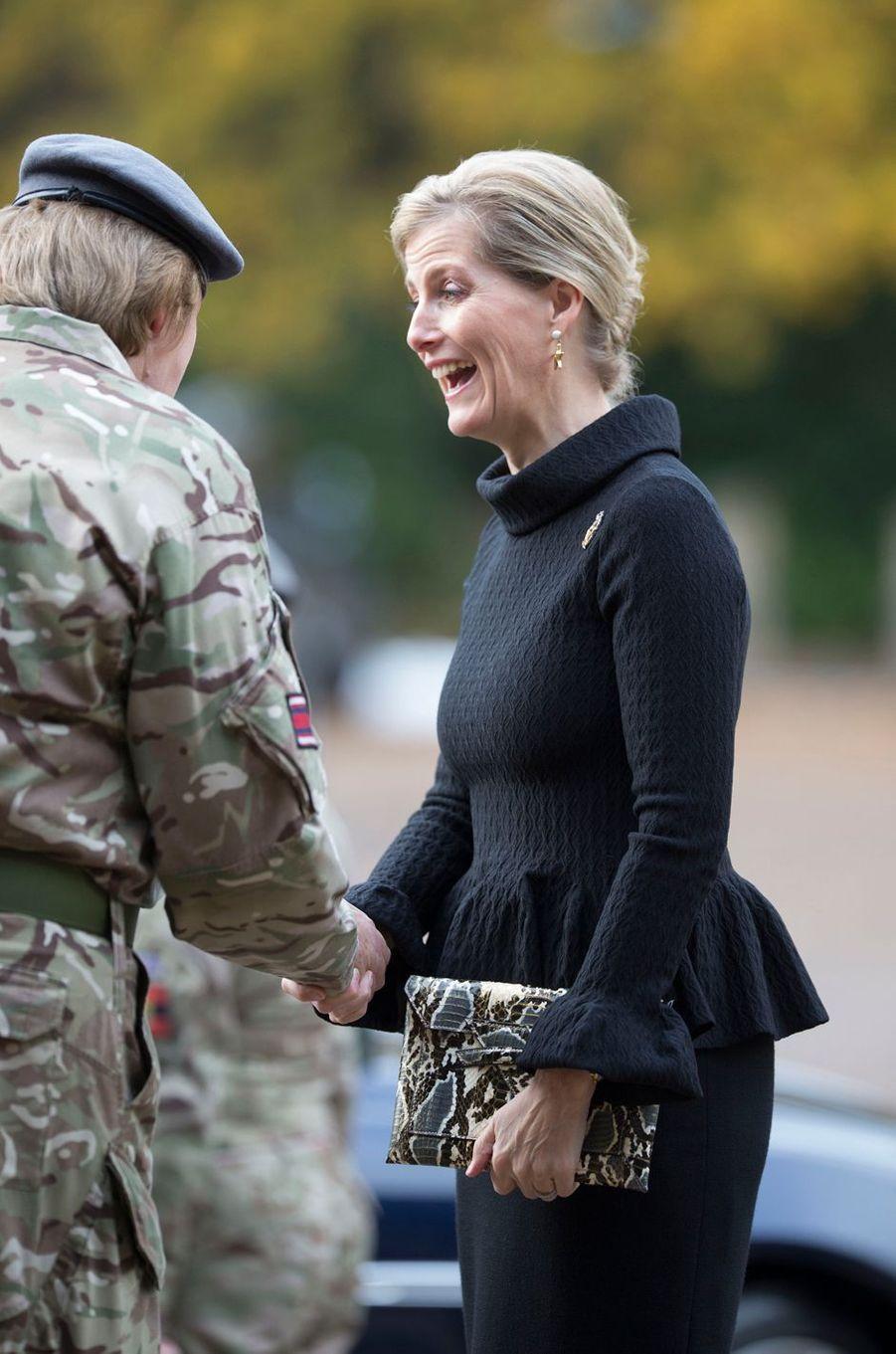 La comtesse Sophie de Wessex à l'Académie royale militaire de Sandhurst, le 18 novembre 2016