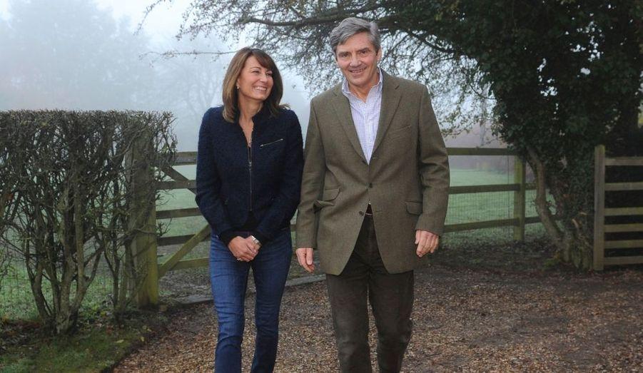 Michael et Carole ont toujours soutenu leur fille, amoureuse du prince William depuis qu'ils sont étudiants.