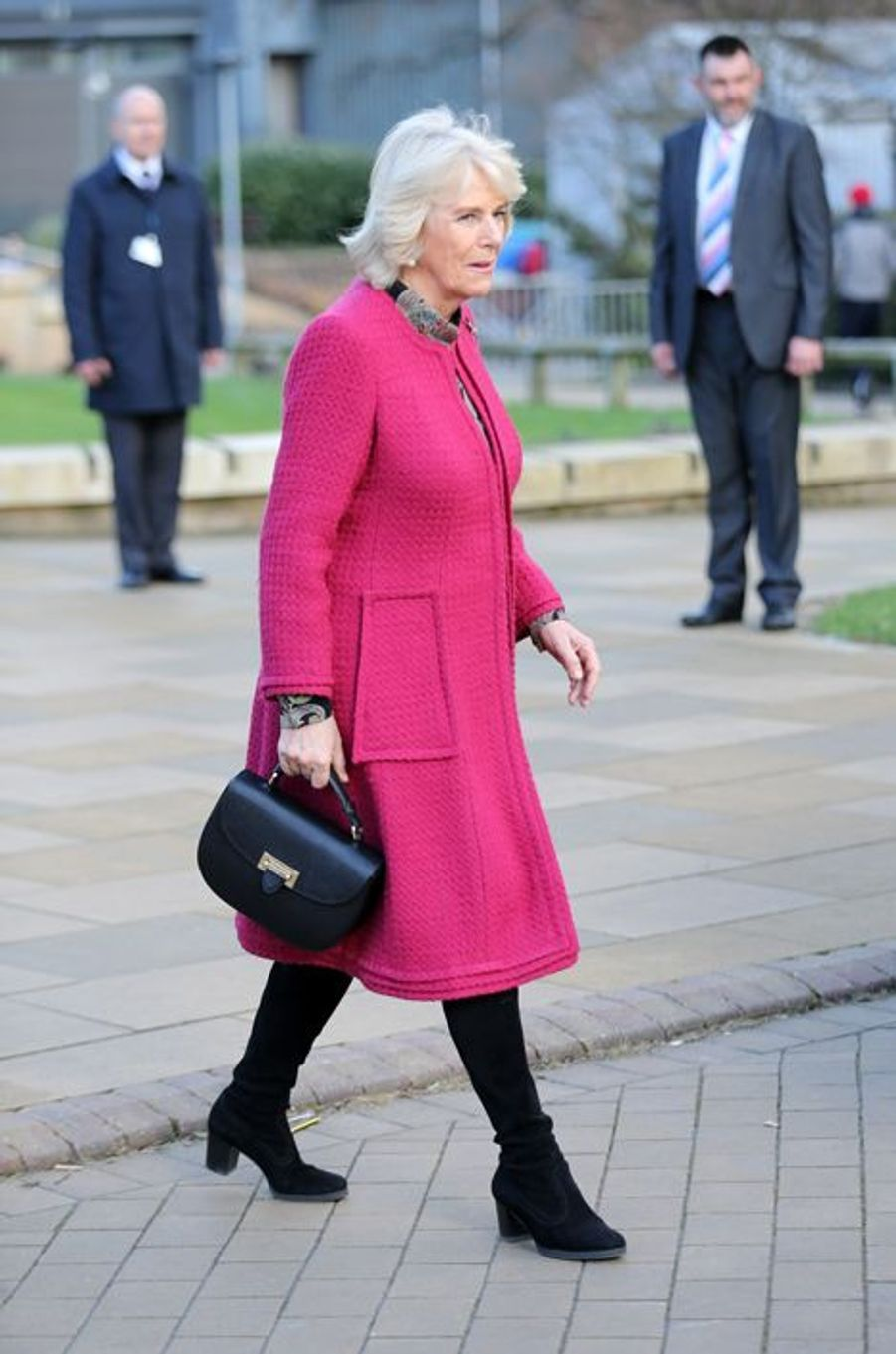 La duchesse de Cornouailles Camilla à l'Université de Southampton, le 11 février 2016