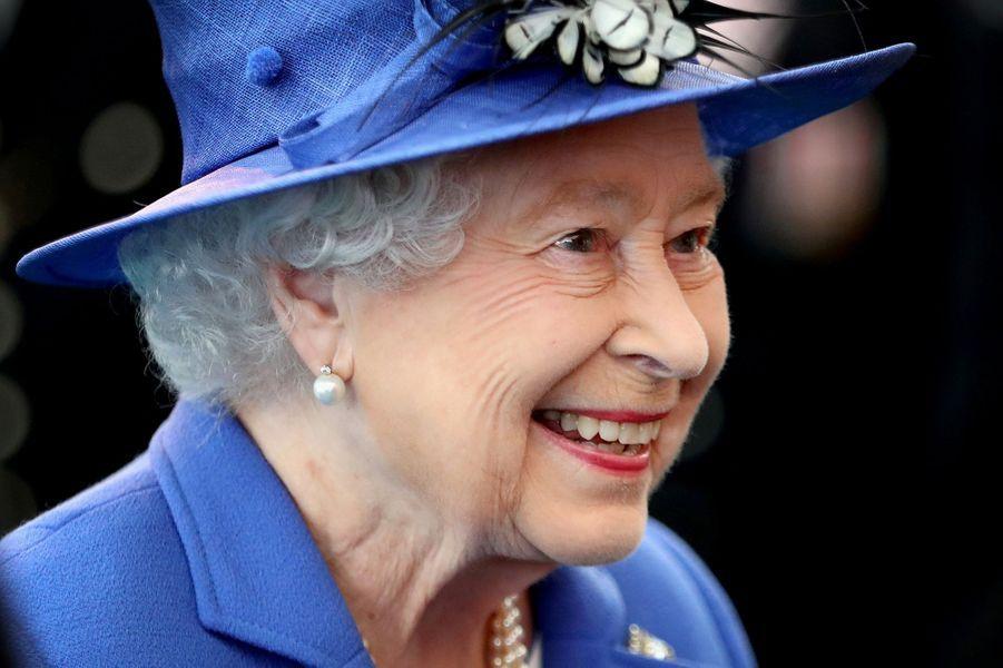 La reine Elizabeth II à Londres, le 1er juin 2016