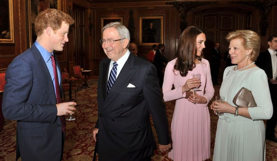 Harry et Constantin II, Kate et Anne-Marie