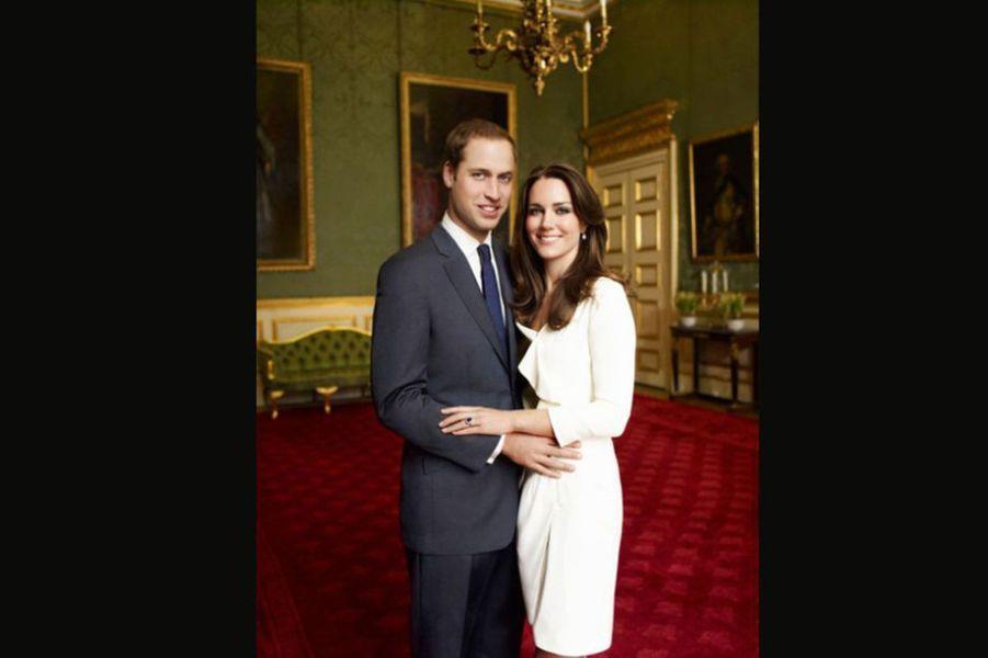 William et Kate, les portraits officiels du couple