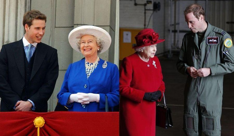 Elizabeth, sa grand-mère la reine