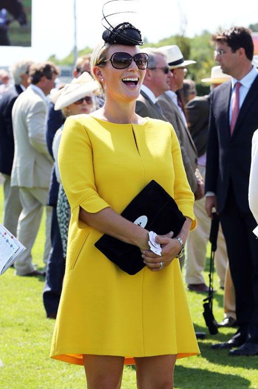 Zara Phillips rayonne aux Ladies Day