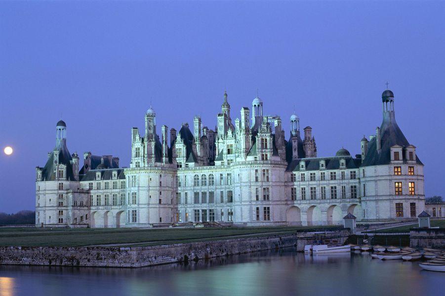 Idée 1 : le château de Chambord (photo prise en janvier 2013)