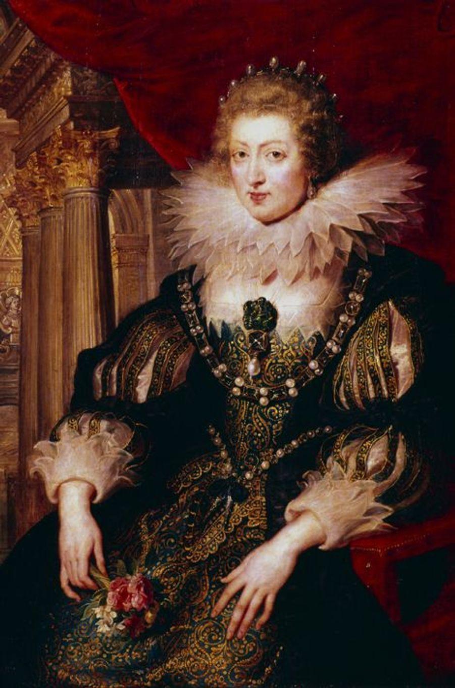 Portrait d'Anne d'Autriche par Pierre-Paul Rubens (musée du Louvre, Paris)