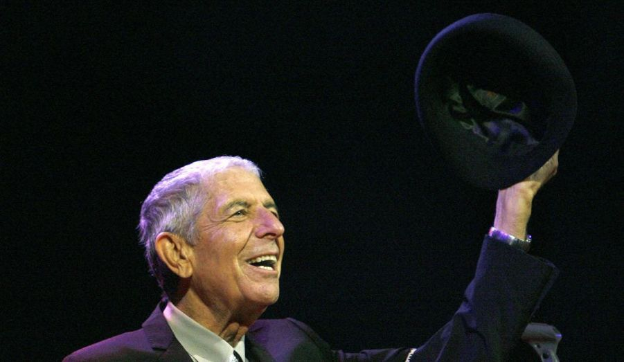 Leonard Cohen a été très applaudi lors de sa prestation au Festival de Coachella.