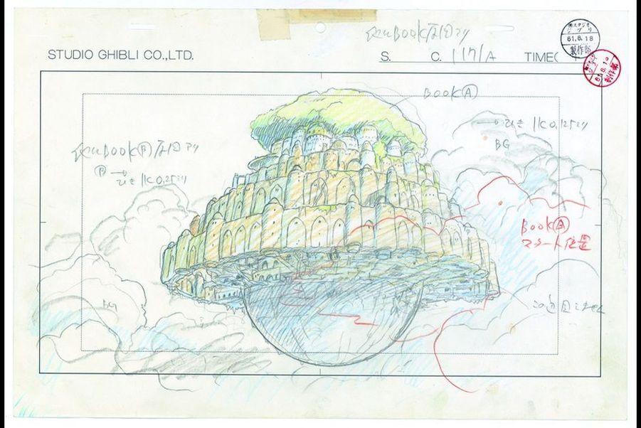"""""""Le Château dans le ciel"""""""