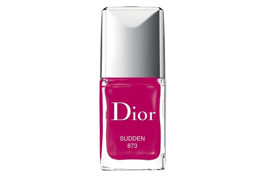 Sudden, Maybe, Early et Now, les nouveaux coloris en édition limitée de vernis à ongles, Dior, 26,50 €.