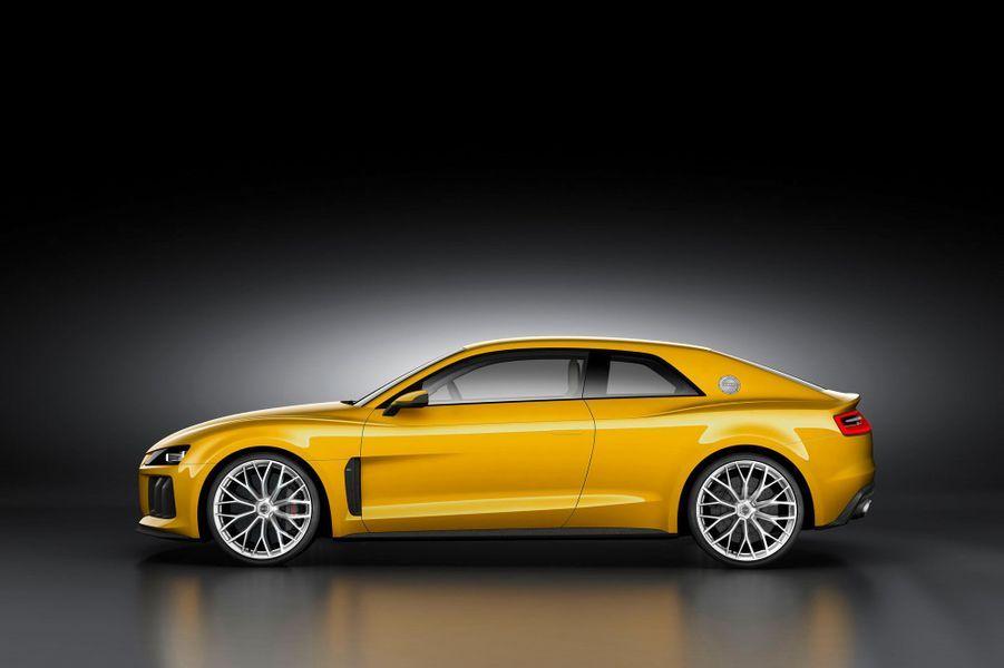 Grâce à cette association, l'Audi n'émet que 50 g de CO2 par kilomètre, tout en se contentant en moyenne de seulement 2,5 litres de carburant. Des chiffres étonnants pour une auto qui peut atteindre 305 km/h. Reste à voir si coupé verra vraiment le jour: le Quattro concept de 2010 n'a jamais été promis, contrairement aux espoirs initiaux.