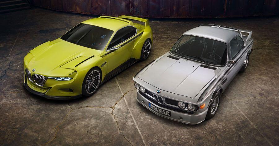 La BMW 3.0 CSL Hommage et son ancêtre