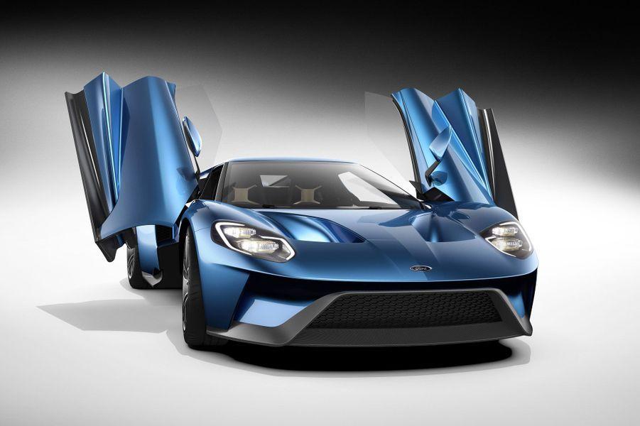 La nouvelle Ford GT arrivera en 2016