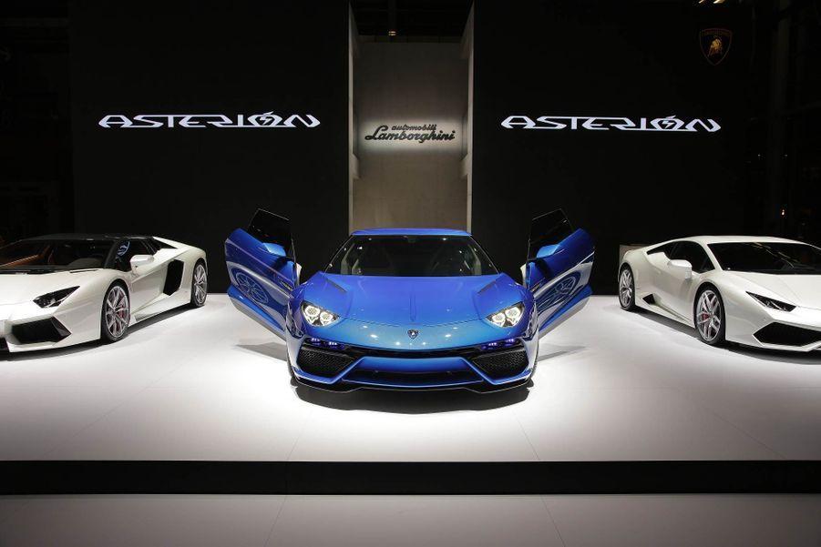 Lamborghini Asterion : la réponse à Porsche et Ferrari