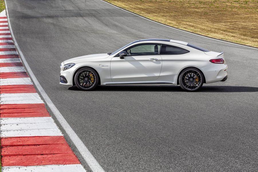 La Mercedes-AMG C63 S Coupé
