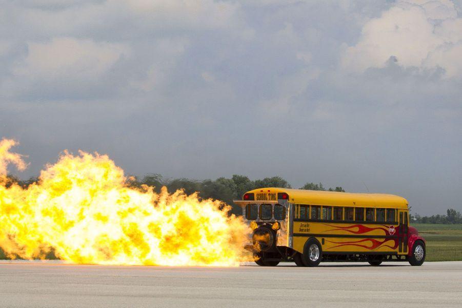 Voici le bus scolaire le plus rapide du monde