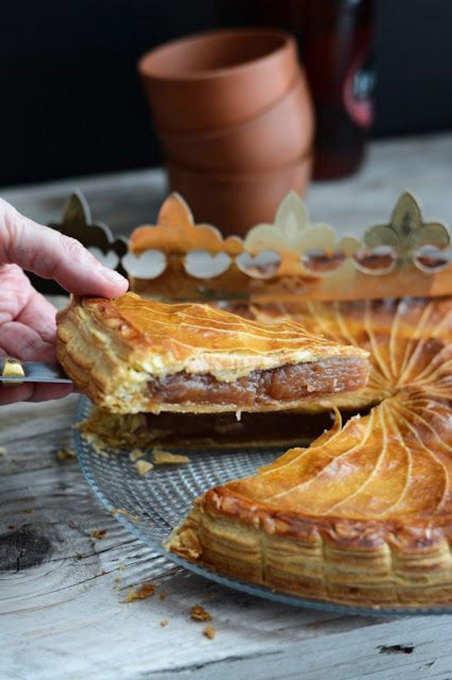 Galette des rois aux pommes caraméliséesVoir le pin