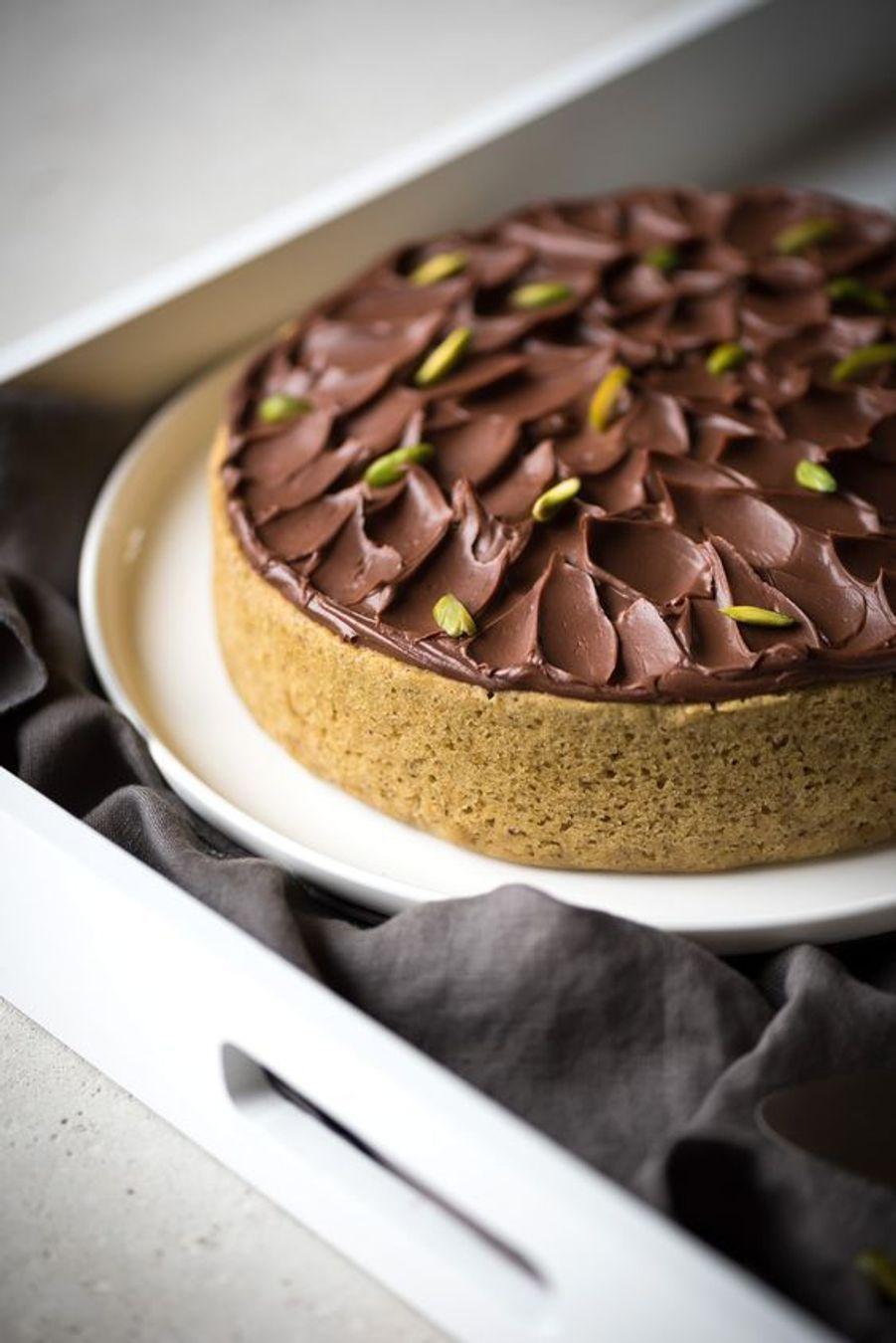 Gâteau pistache chocolathttps://www.pinterest.fr/pin/411938697158335699/