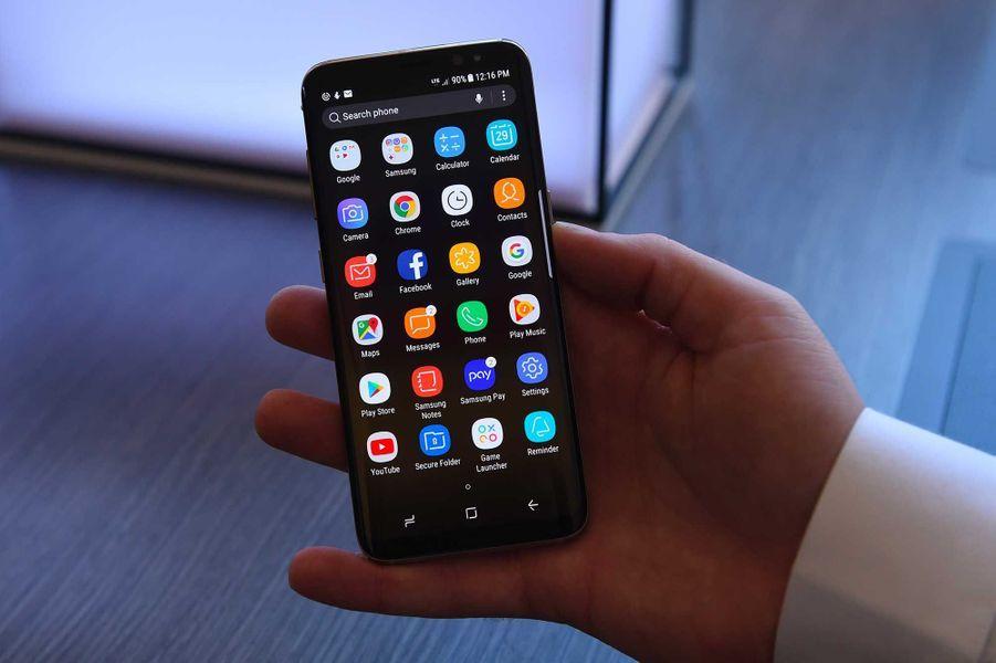 Le Galaxy S8.