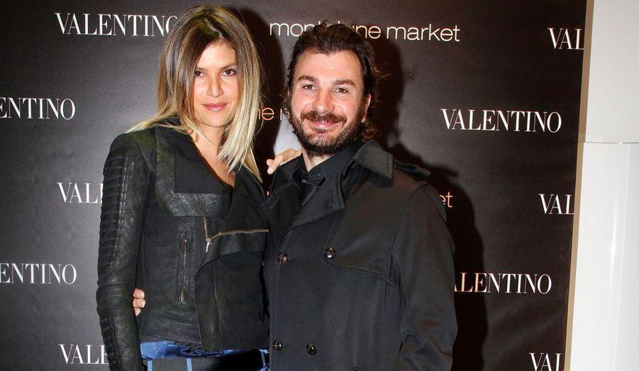 Michaël Youn et sa compagne, Isabelle.