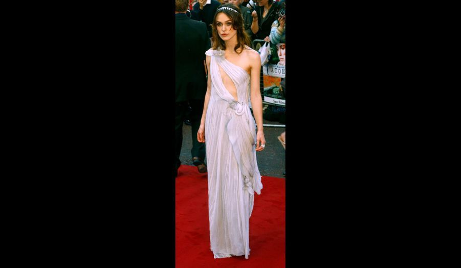 """A la première du film """"Atonement"""", en septembre 2007."""
