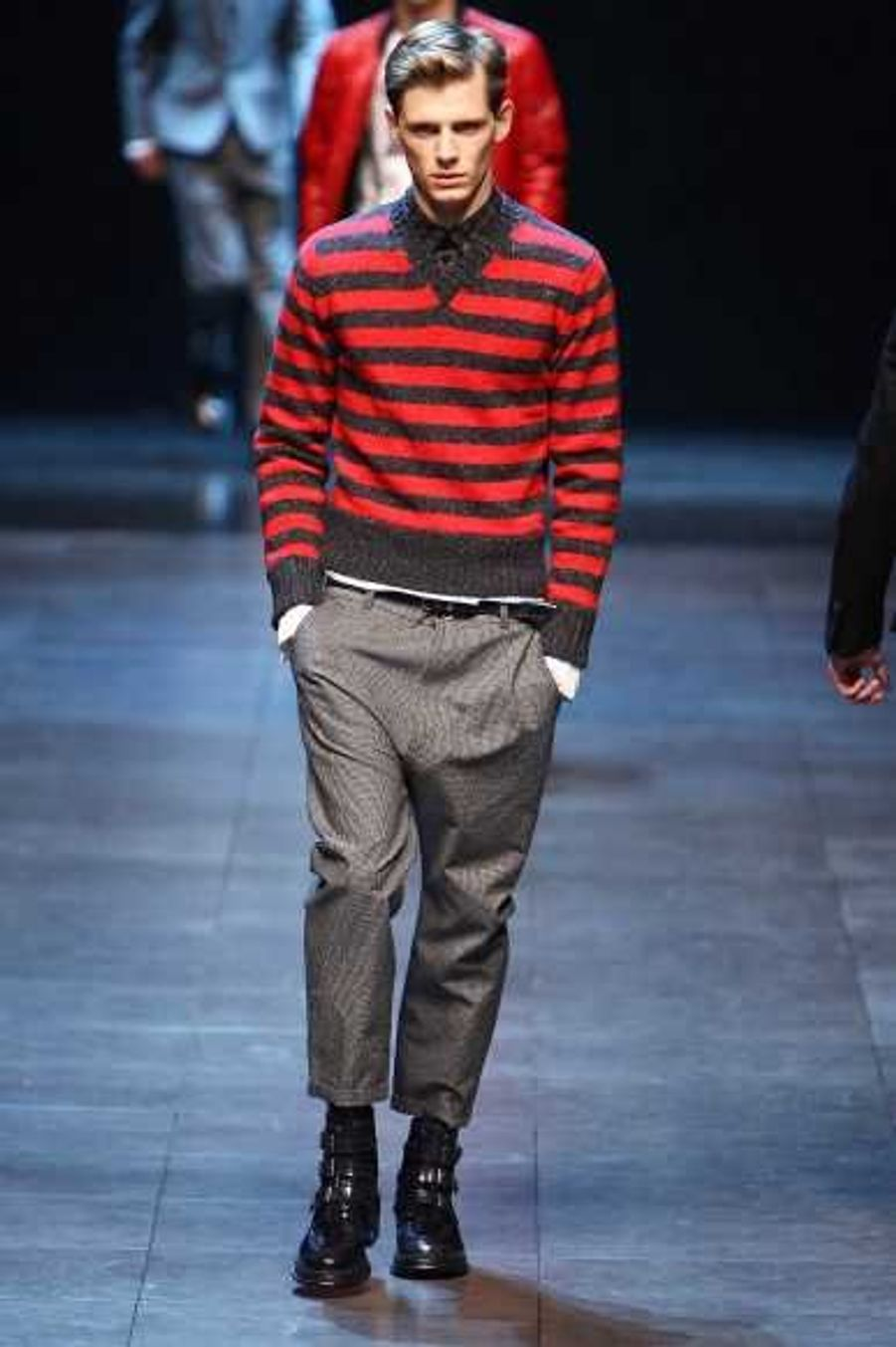 Dolce&Gabbana en rouge et noir