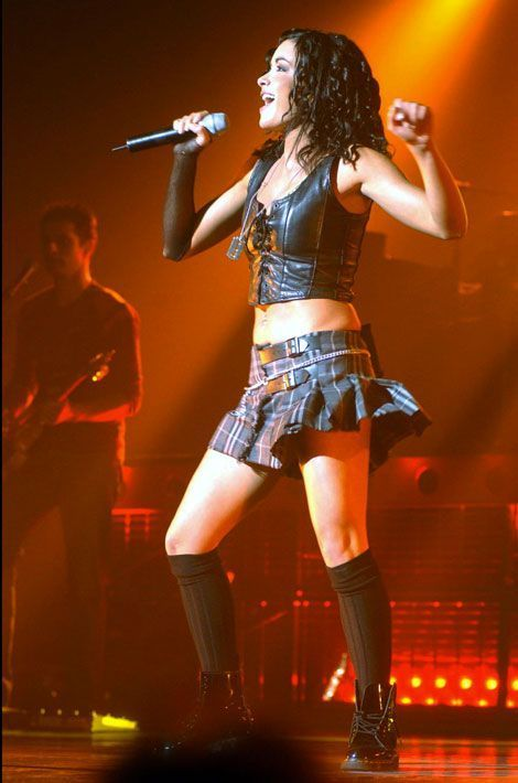 Jenifer en concert en 2002 en Belgique