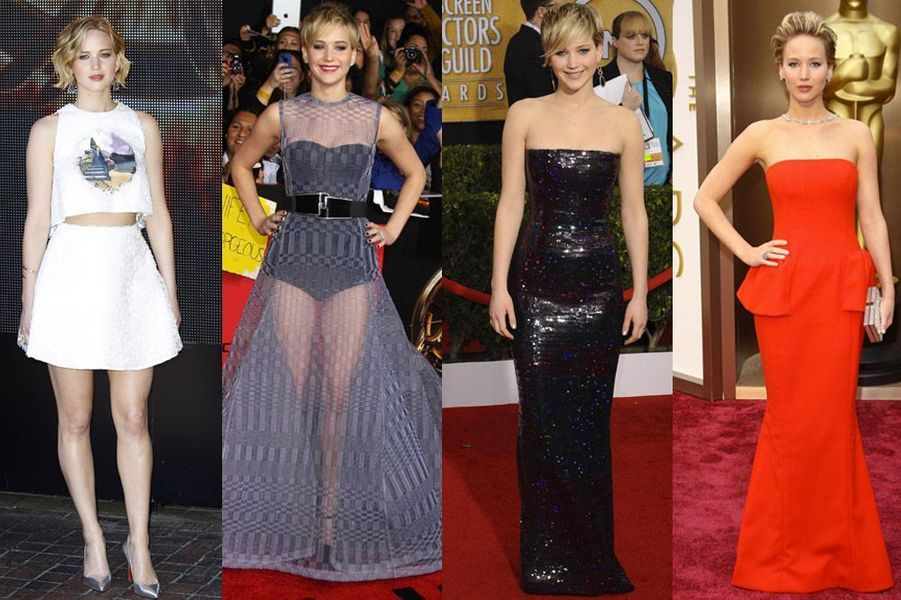 L'actrice Jennifer Lawrence, 24 ans, égérie Dior