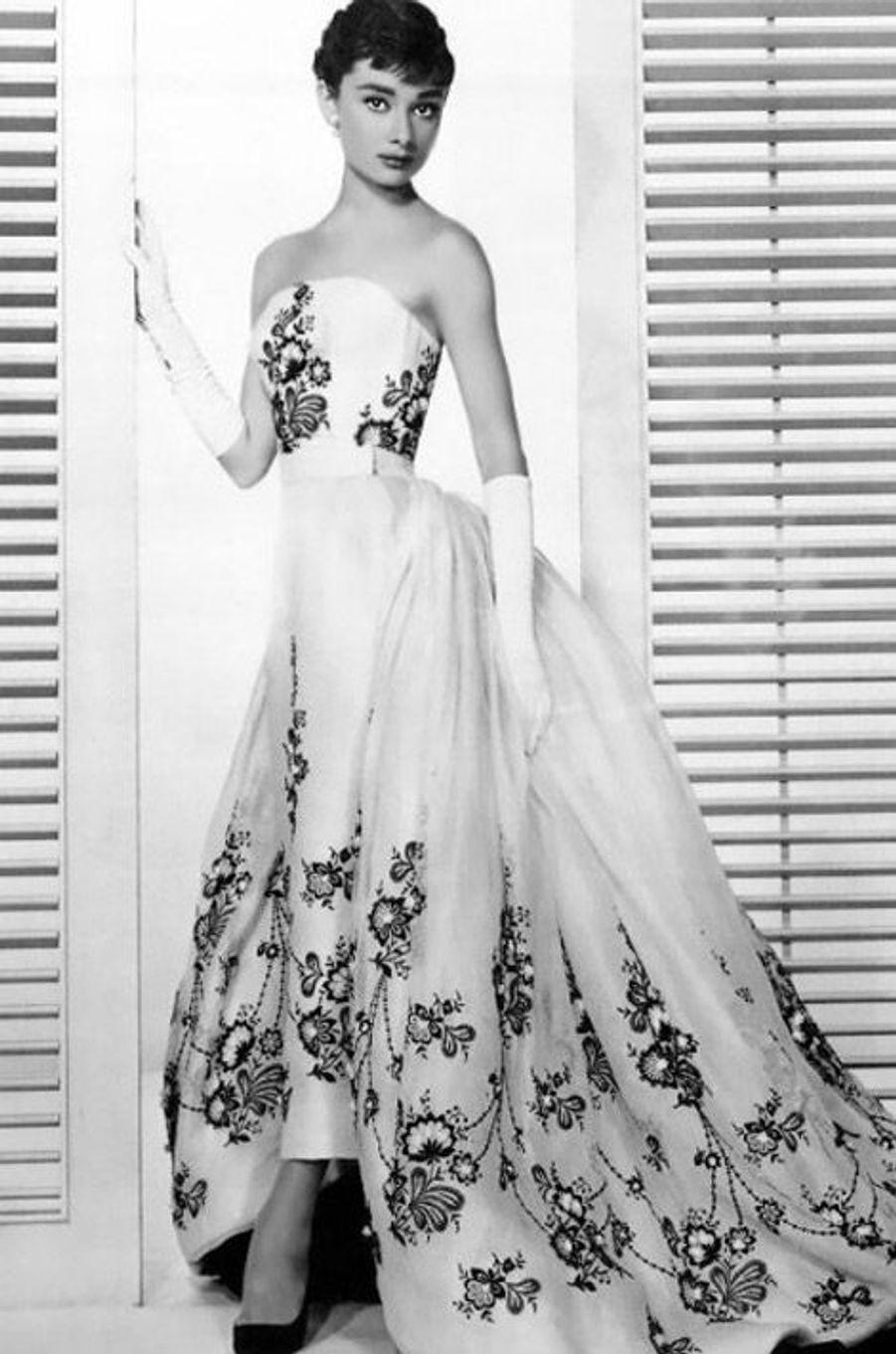 Audrey Hepburn dans le film Sabrina (1954)