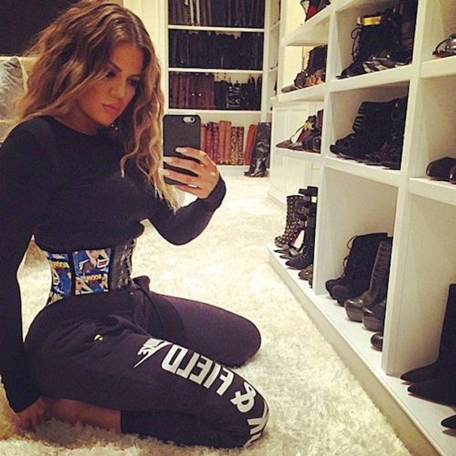 La star de la téléréalité américaine Khloe Kardashian