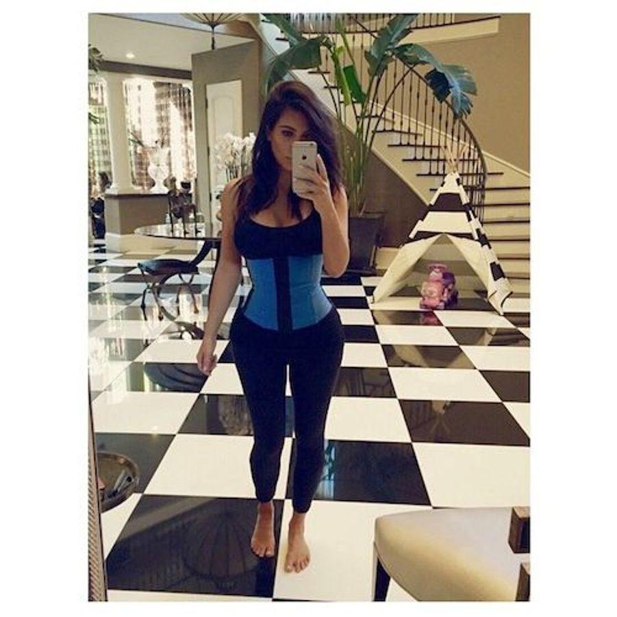 La star de la téléréalité américaine Kim Kardashian